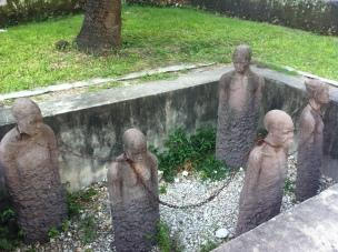 A grim reminder of Zanzibar's history with Slavery
